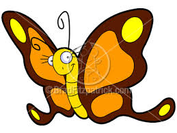 cartoon pictures of butterflies