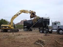 end dump trailers