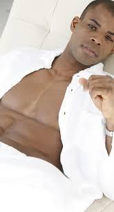 black male modeling