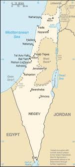 mapa del rio jordan