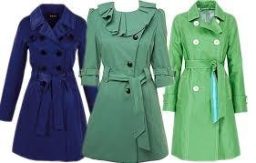 blue mac coat