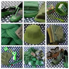 clothing green
