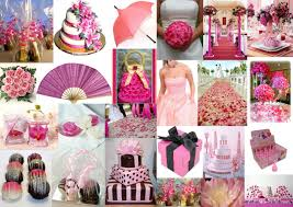 hot pink wedding theme