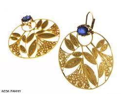art earrings