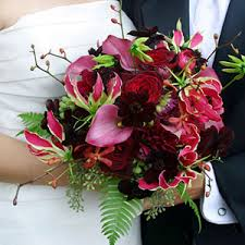 pink and red wedding