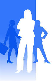 business woman networking
