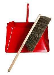 dust pan broom