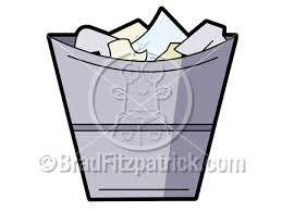 garbage can clip art