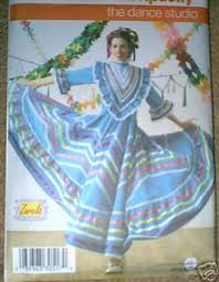mexican dance dress
