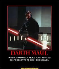 darth maul poster
