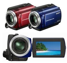 new sony camcorders