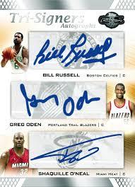 bill russell autograph