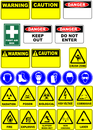clip art safety signs