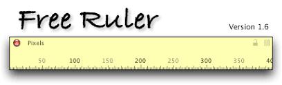 onscreen ruler