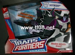 transformers animated shockwave toys