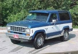 Bronco II 1984-1990