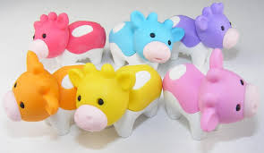 cow erasers