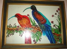 glass painting crafts