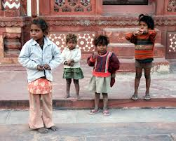 children from india