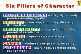 pillars of character