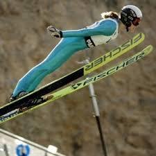 woman ski suit