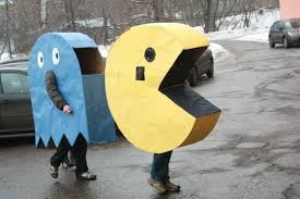 pac man ghost costume