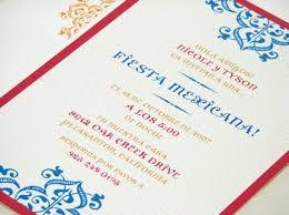 spanish party invitations