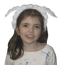 lamb ears headband