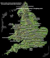 england travel map