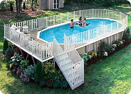large above ground pools