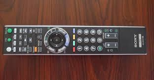 sony lcd remote