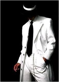 black zoot suit