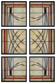 arts and crafts stained glass designs
