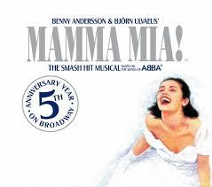 mamma mia musical cd