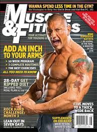 muscle magazines