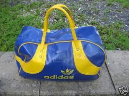 blue adidas bag
