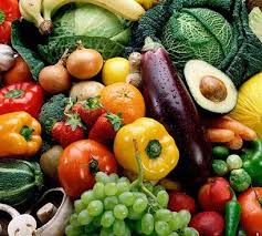all fruit and vegetables