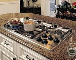 cast iron cooktop