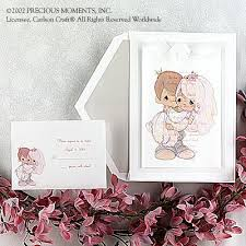 precious moments invitation