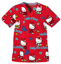 hello kitty scrub