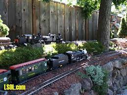 garden railroads