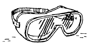 laboratory safety goggles