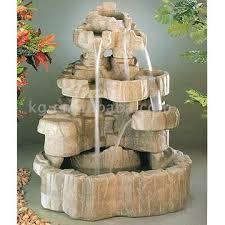 rock garden fountains
