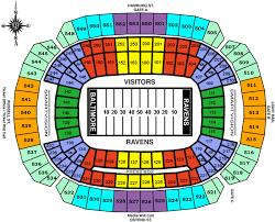 ravens stadium seating chart