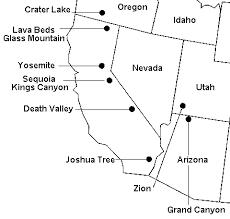 map of the southwest united states