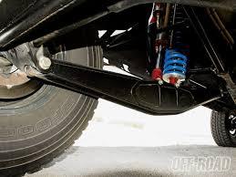 four link rear suspension