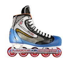 inline hockey goalie