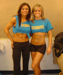 fitness muscle woman