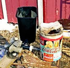 woodchip burner