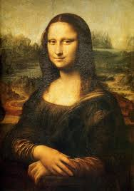 picture of mona lisa painting